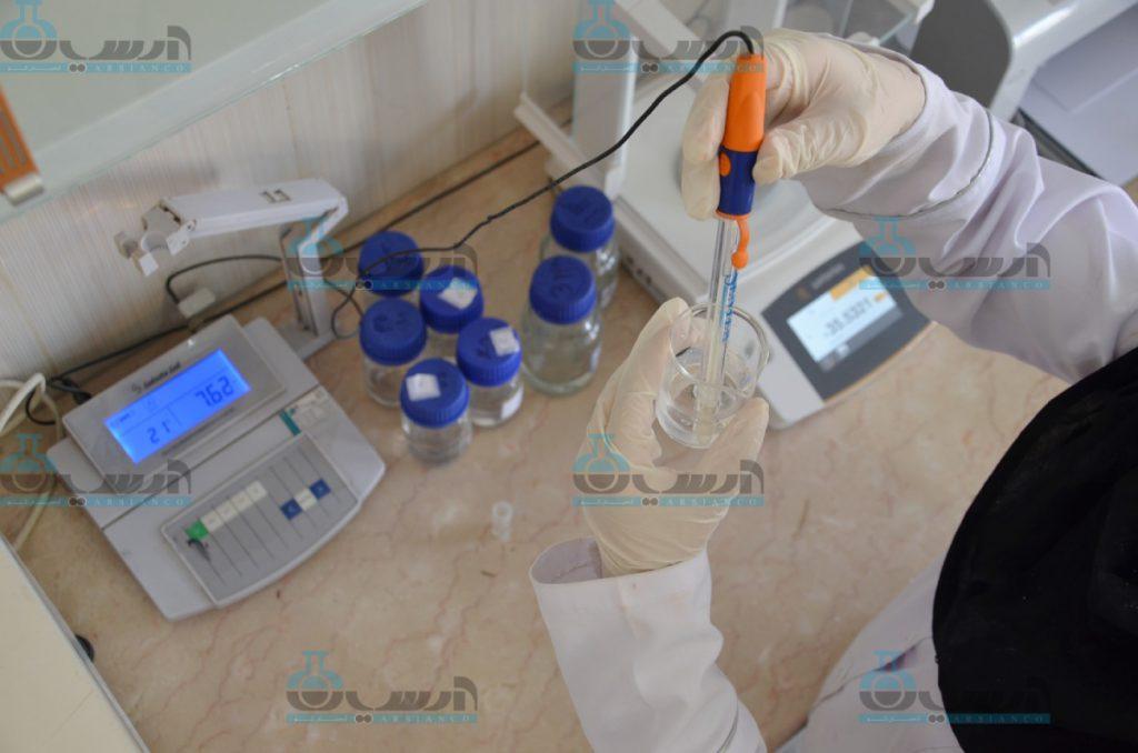 آنالیز اکسید روی در آزمایشگاه های مختلف