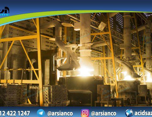 کارخانه تولید اکسید روی با درجه کیفیت های مختلف